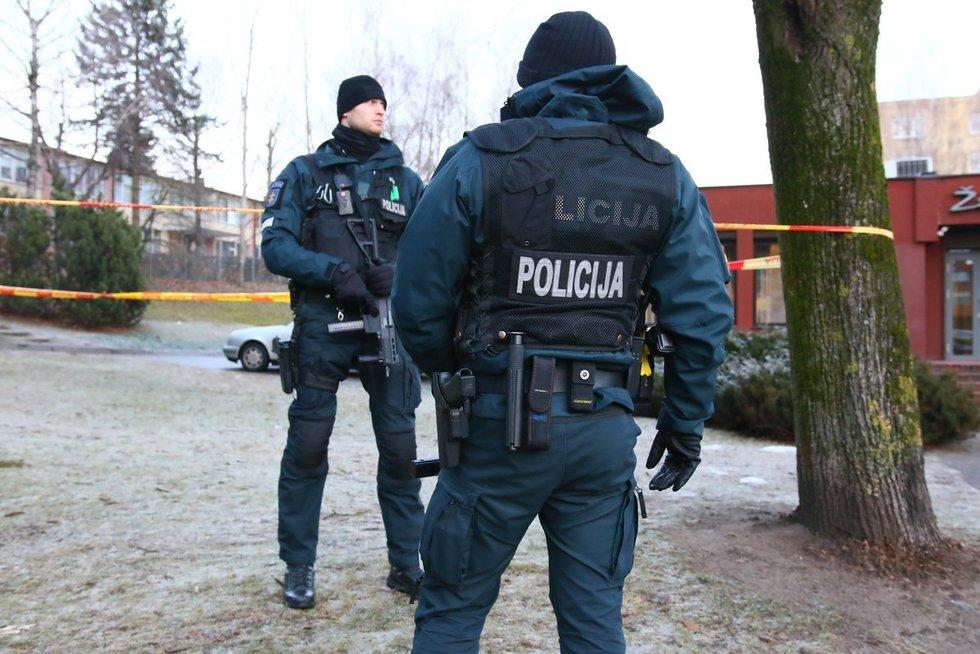 Susišaudymas Vilniuje nuotr. Broniaus Jablonsko