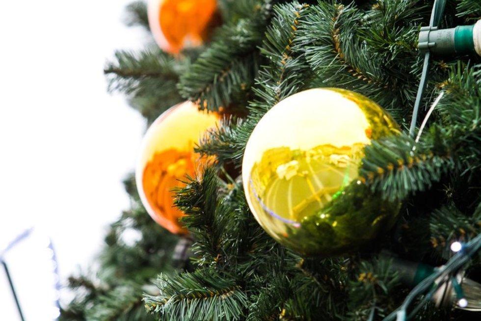 Kalėdiniai papuošimai (nuotr. Tv3.lt/Ruslano Kondratjevo)