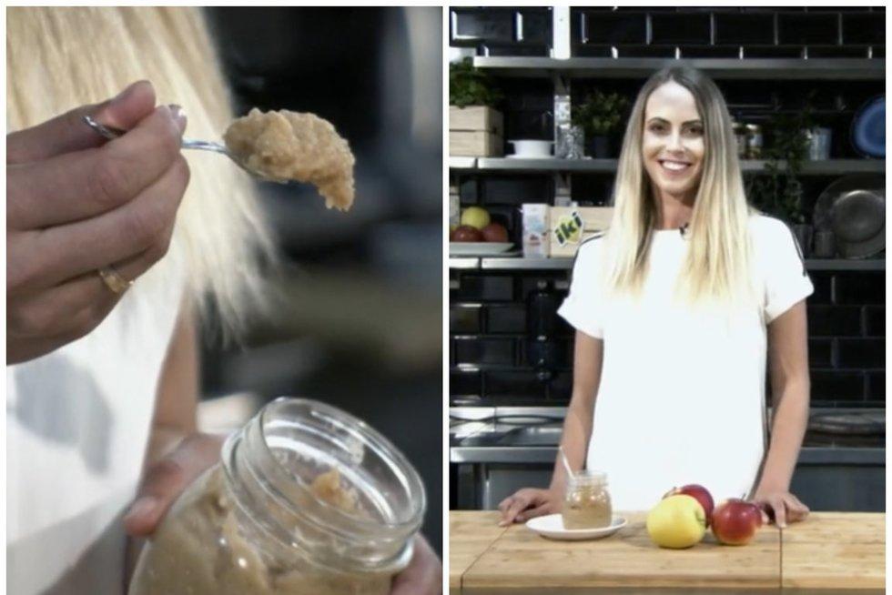 Pakaitinkite obuolius keptuvėje: Bertos receptas taps mėgstamiausiu  (nuotr. stop kadras)