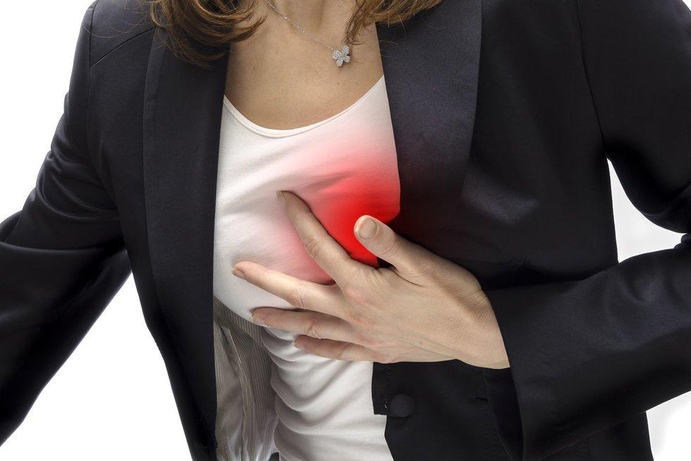 Širdies smūgis (nuotr. 123rf.com)