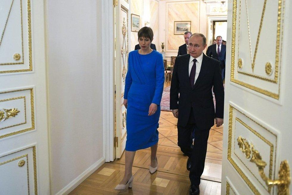 Estija išsiuntė kvietimą Putinui: nori gerinti bendradarbiavimą (nuotr. SCANPIX)