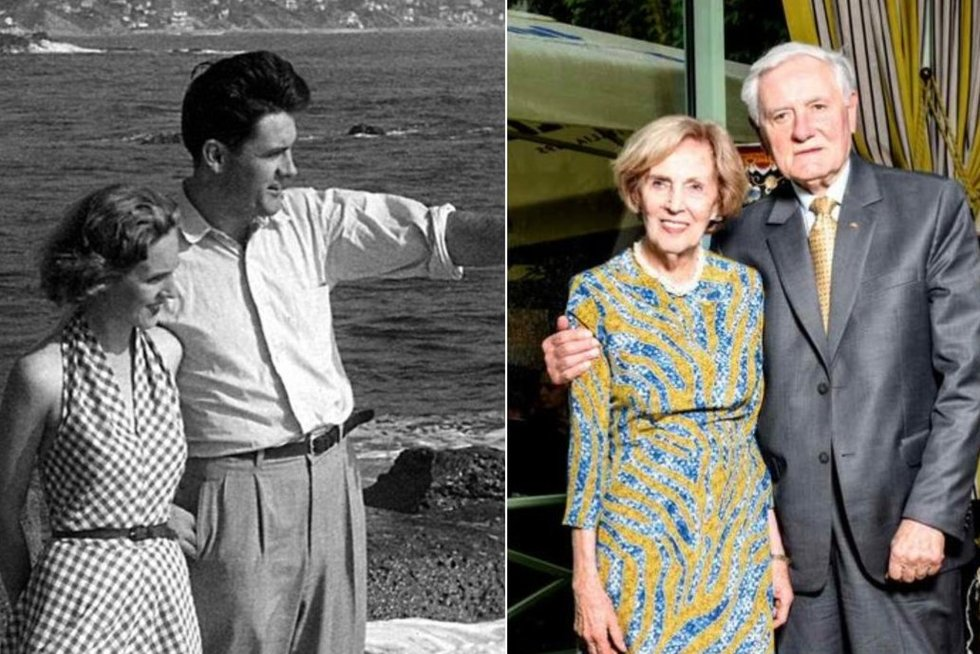 Adamkai paminėjo 68-ąsias vestuvių metines (tv3.lt fotomontažas)