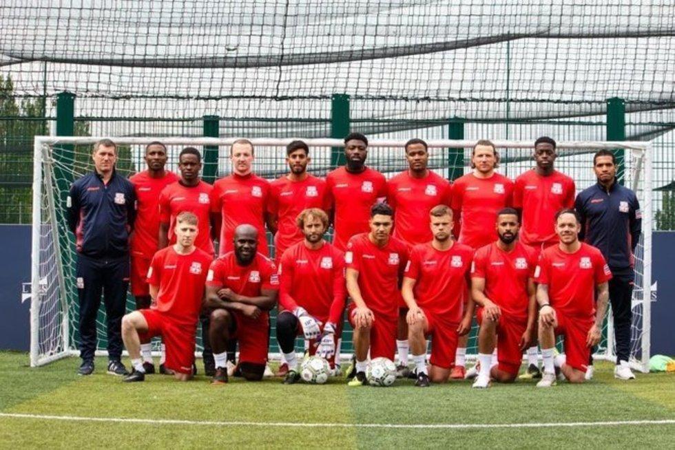 Anglijos mažojo futbolo rinktinė (nuotr. Organizatorių)