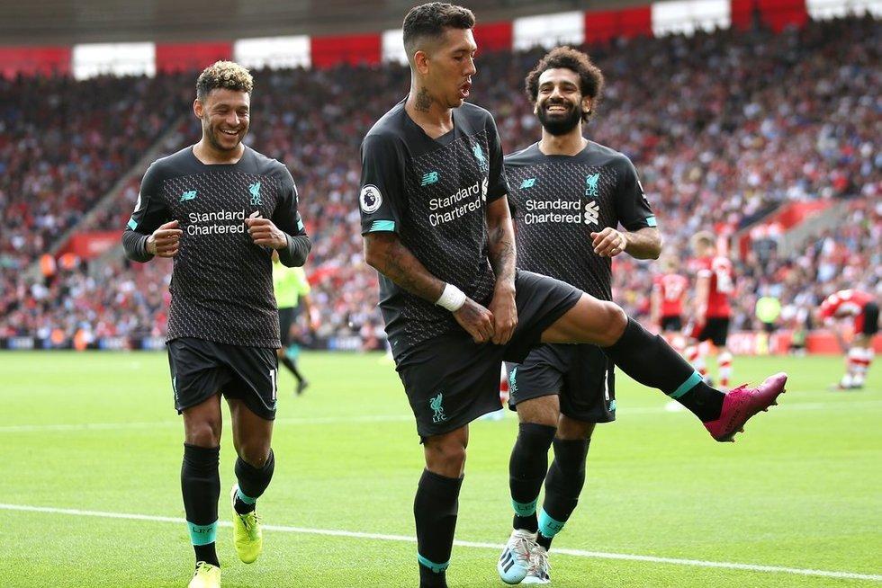 """""""Liverpool"""" šventė antrą pergalę (nuotr. SCANPIX)"""