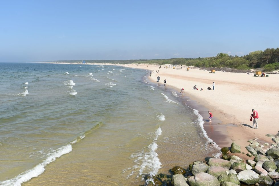 Baltijos jūros pakrantė (nuotr. Fotodiena.lt)