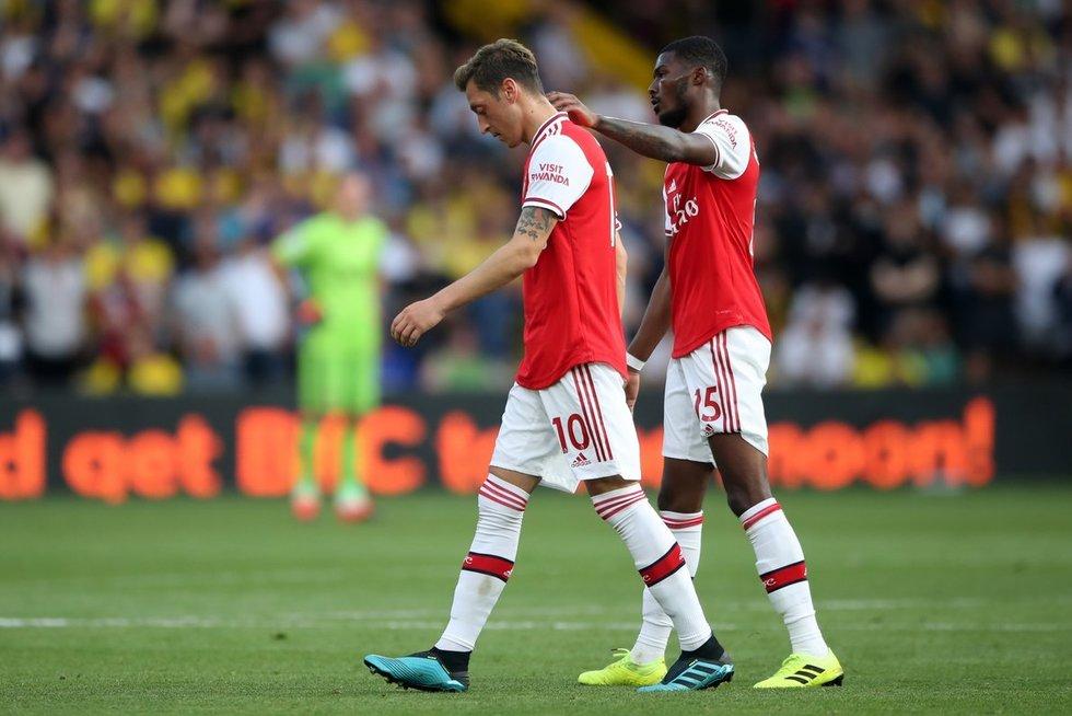 """Arsenal"" futbolininkai (nuotr. SCANPIX)"