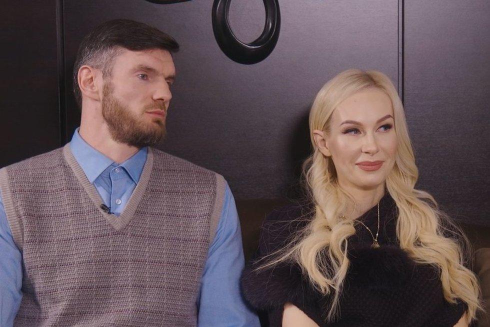 Darjušas Lavrinovičius su žmona Edita (nuotr. Organizatorių)