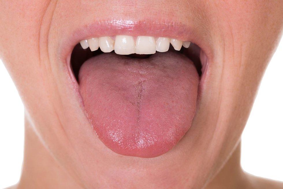 Liežuvis (nuotr. 123rf.com)