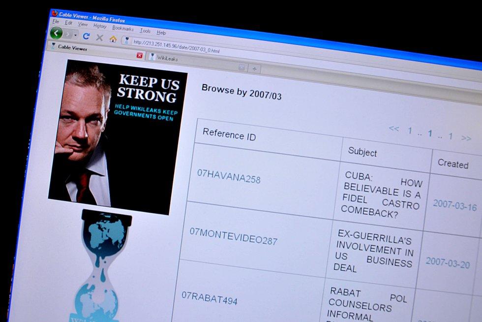WikiLeaks (nuotr. SCANPIX) (nuotr. Balsas.lt)
