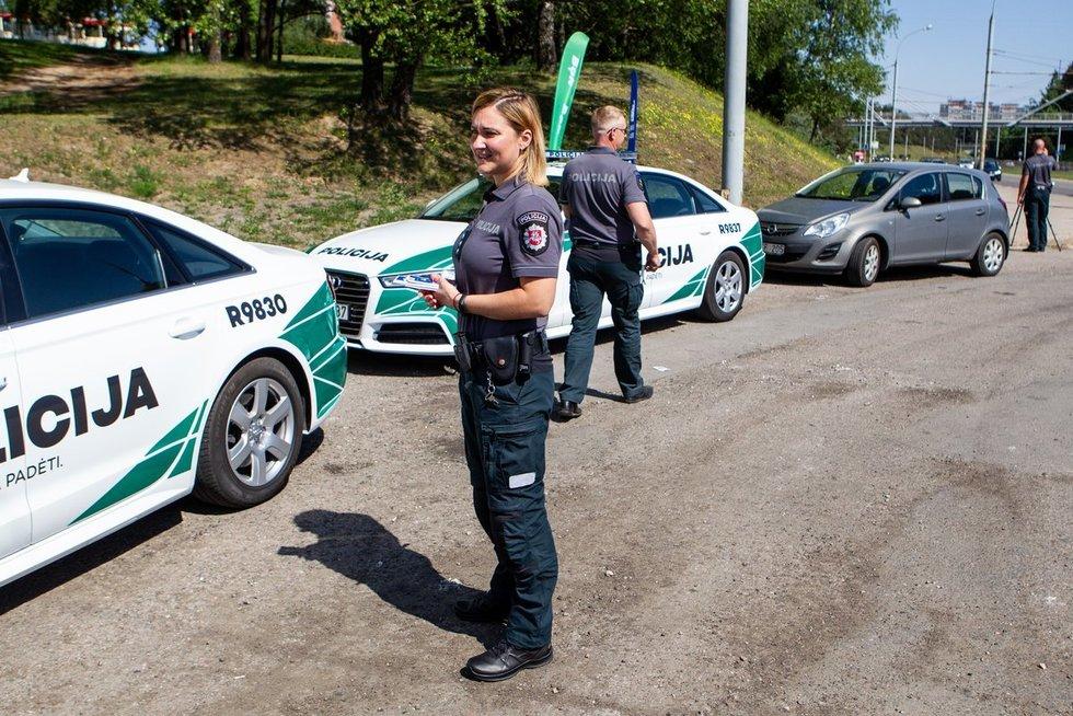 Lietuvos policija (nuotr. Paulius Peleckis/Fotobankas)