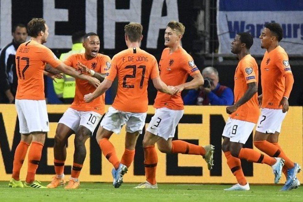 Nyderlandai parbloškė vokiečius (nuotr. SCANPIX)