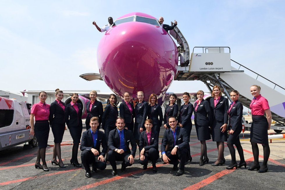 """""""Wizz Air"""" (nuotr. bendrovės)"""