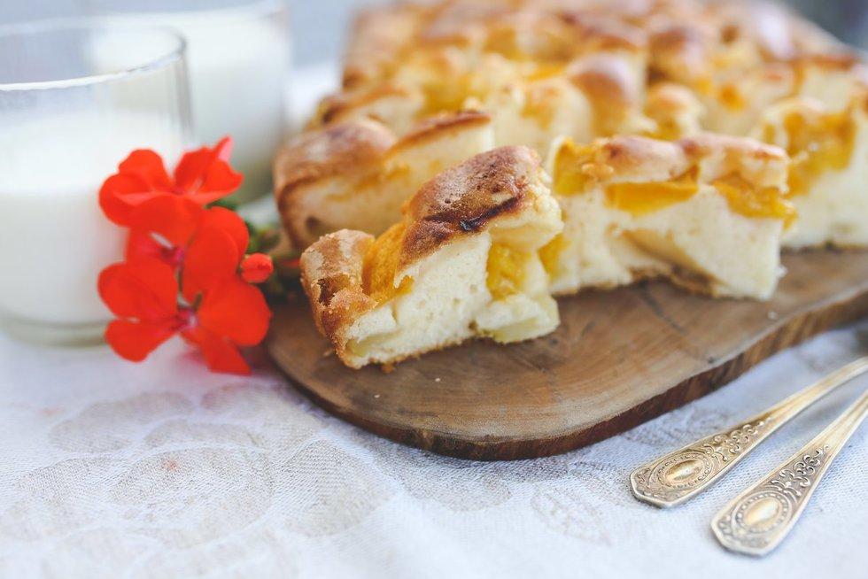 Obuolių pyragas (nuotr. Organizatorių)