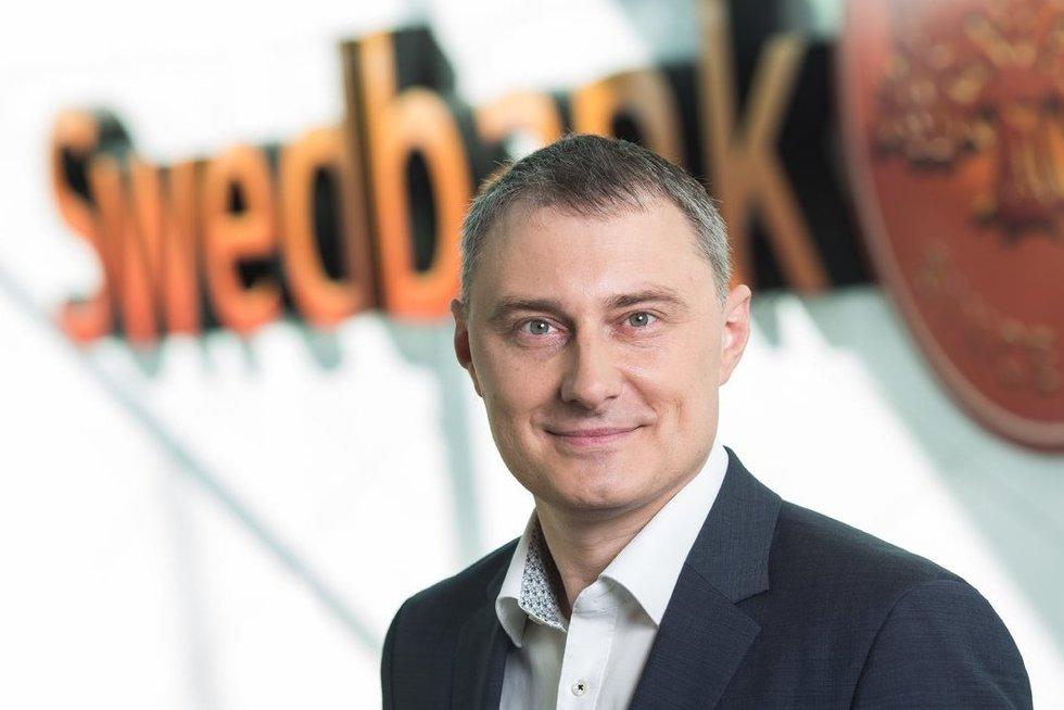 Gediminas Misevičius (Swedbank nuotr.)