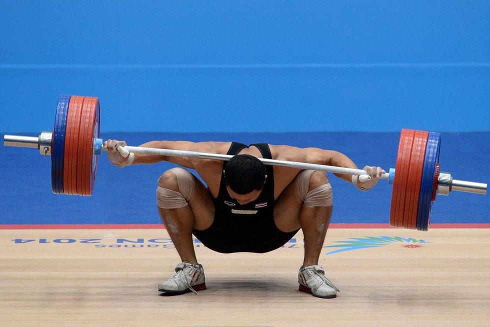 Sunkioji atletika (nuotr. SCANPIX)