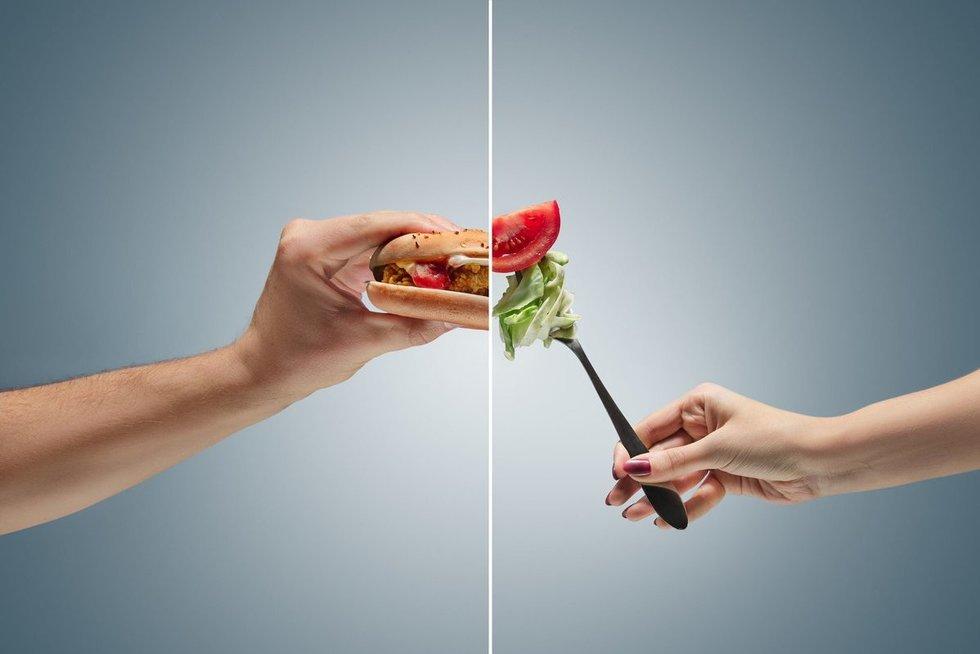 Didžioji vegetarų ir mėsavalgių kova: vieniems – didesnė insulto, kitiems – infarkto rizika (nuotr. 123rf.com)