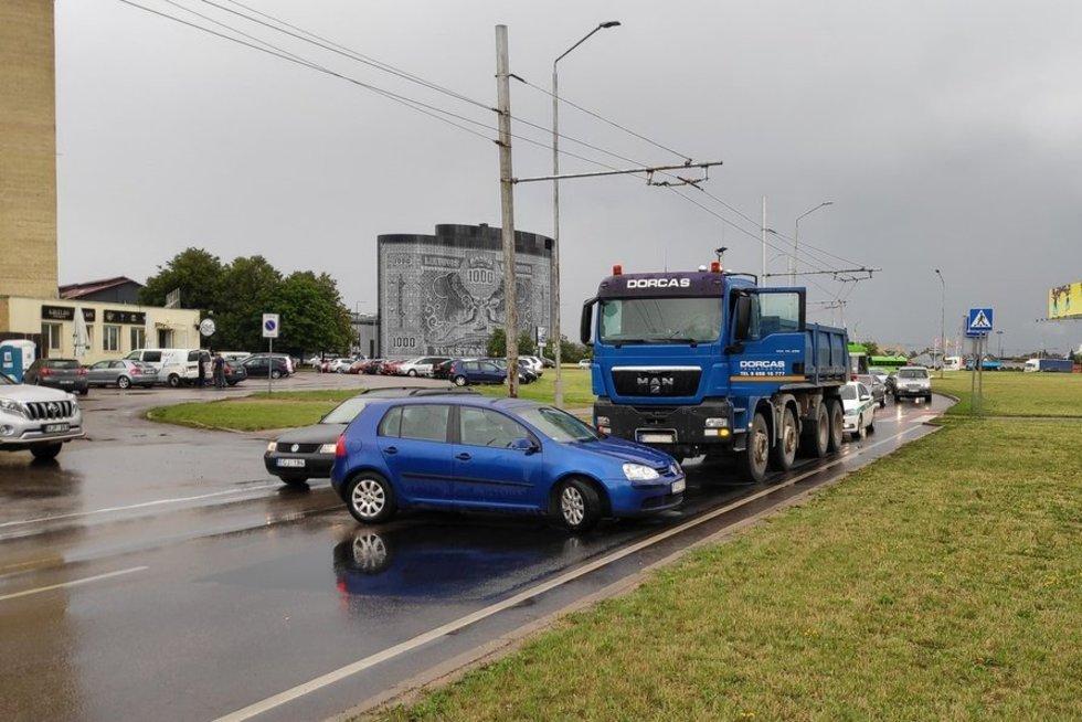 Eismo įvykis Kaune (nuotr. policijos)