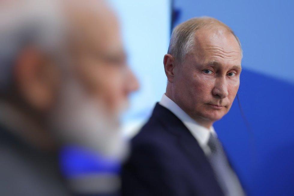 Vladimiras Putinas (nuotr. SCANPIX) tv3.lt fotomontažas