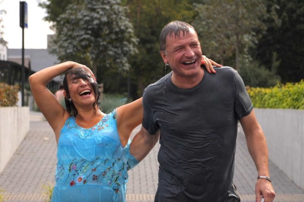 I. Starošaitė atvirai apie santykius su Ž. Žvaguliu (nuotr. TV3)