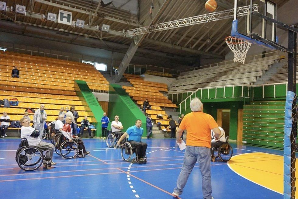 Neįgaliųjų sporto žaidynių akimirkos. Aurelijos Babinskienės nuotr.