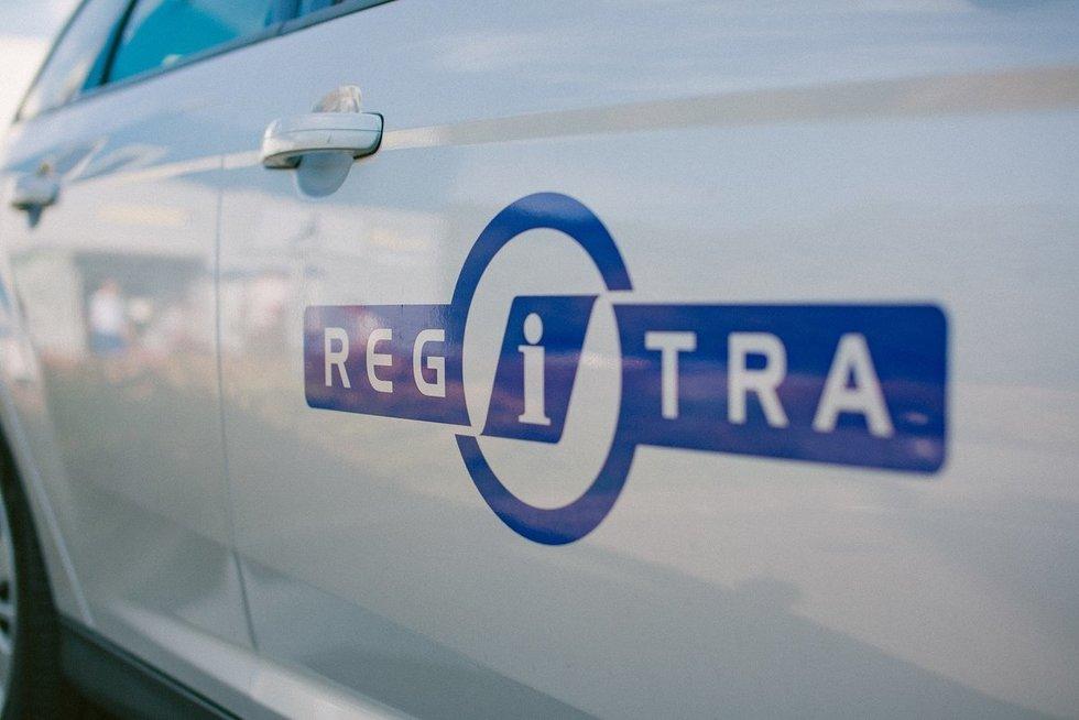 "Valstybės įmonė ""Regitra"" (nuotr. Regitra)"