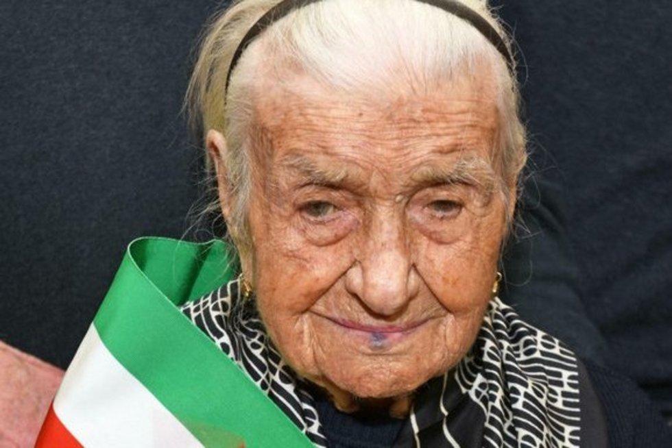 Giuseppina Robucci (nuotr. SCANPIX)