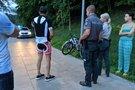 Vilniuje – dviratininkų avarija (nuotr. Broniaus Jablonsko)