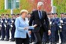 Angela Merkel ir Gitanas Nausėda (nuotr. SCANPIX)