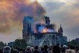Po Paryžiaus katedros gaisro – siūlymas Seime