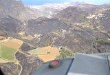 Vaizdas spaudžia ašarą: pamatykite, kaip atrodo gaisro nusiaubta Gran Kanarija