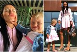 G. Rutkauskienė-Vasha dukrelę išleido į darželį: pasidalijo šmaikščia nuotrauka