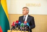 Pranckietis mano, kad biudžetas bus priimtas: Seimas turi pozityvią daugumą