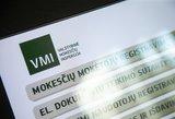VMI skuba informuoti: PVM mokėtojus pasiekė klaidingi pranešimai apie nepateiktus duomenis