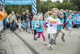 Jubiliejiniame UNICF vaikų bėgime – stulbinanti varžybų dvasia