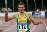 Justinas Beržanskis: apie bėgimą su akiniais, diskvalifikaciją dėl Kenijos aprangos bei rekordus tapus tėvu