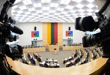 Dėl rezidentų algų Seimo opozicija trenkė durimis – parlamento darbas sutriko