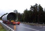 Lietuvoje – neeilinis krovinys, kuriam reikėjo išskirtinio gabenimo