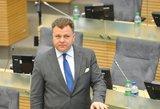 Seimo narys M. Adomėnas pašalintas iš TS-LKD