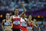 Dopingą vartojusi bėgikė turės gražinti Londono olimpinį auksą