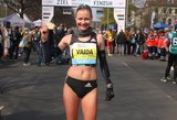 Olimpietė Vaida Žūsinaitė: pirmasis bėgioti pradėjo mano brolis, o aš jį kopijavau