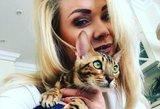 Natalijos Bunkės augintinis užvaldo internetą: svajonių katinas?