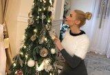 Natalija Bunkė jau pasiruošė Kalėdoms: parodė, kuo puoš namus