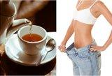 Ši arbata stebuklinga, svoris kris kaipmat
