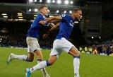 """Šiurpi trauma, išvarymas ir 102 minutės: """"Everton"""" išplėšė lygiąsias prieš """"Tottenham"""""""