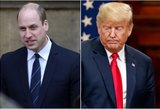 Atskleista netikėta priežastis, kodėl princas Williamas atsisakė susitikti su D. Trumpu