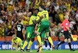 """Sensacija: """"Norwich"""" įrašė pirmą pralaimėjimą """"Manchester City"""" ekipai"""