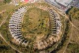 Nacionalinio stadiono gėda: lietuviams toliau teks lipti į medžius