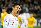 """Juventus"" atsakas: Messi gerbia, bet titulas priklauso Ronaldo"