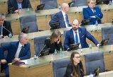 Vyriausybė patarė Seimui apsvarstyti Nausėdos mokestinius pakeitimus