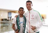 Ronaldo išgelbėtas našlaitis užaugo: seka dievaičio pramintu keliu